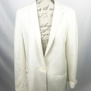 Banana Republic light Creme blazer